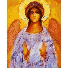 Картина-раскраска по номерам «Ангел» 40*50 см