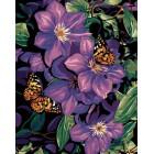 Бабочки в лиловом