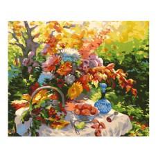 Картина-раскраска по номерам «Дары природы» 40*50 см