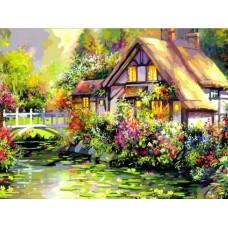 Картина-раскраска по номерам «Яркое лето» 40*50 см