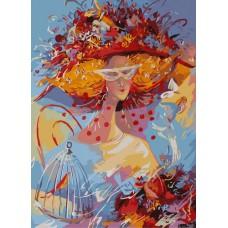 Картина-раскраска по номерам «Хрустальные чувства» 40*50 см