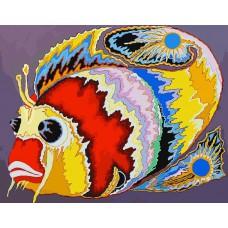 Картина-раскраска по номерам «Крылатка» 40*50 см