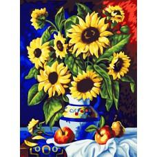 Картина-раскраска по номерам «Летнее настроение» 40*50 см
