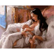 Картина-раскраска по номерам «Материнство» 40*50 см
