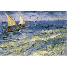 Картина-раскраска по номерам «Море в Сент-Мари» 40*50 см