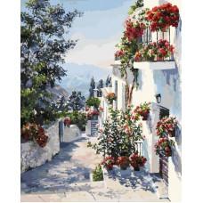 Картина-раскраска по номерам «На юге Испании» 40*50 см