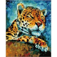 Картина-раскраска по номерам «На охоте» 40*50 см