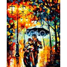 Картина-раскраска по номерам «Наедине с любимым» 40*50 см