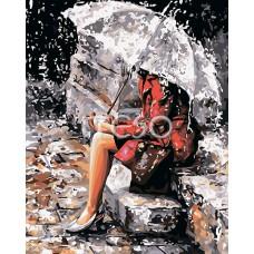 Картина-раскраска по номерам «Одиночество» 40*50 см