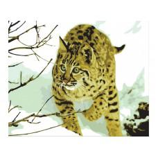 Картина-раскраска по номерам «Охотница» 40*50 см