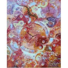 Картина-раскраска по номерам «Пески времени» 40*50 см