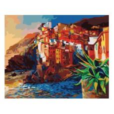 Картина-раскраска по номерам «Побережье» 40*50 см