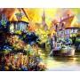 Картина-раскраска по номерам «Прогулка по реке» 40*50 см
