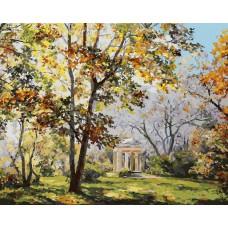 Картина-раскраска по номерам «Ротонда в парке Екатерингоф» 40*50 см