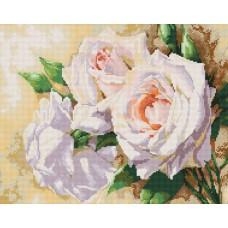 Алмазная мозаика «Розовое трио» 40*50 см