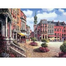 Картина-раскраска по номерам «Шарлеруа. Бельгия» 40*50 см