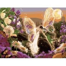 Картина-раскраска по номерам «Сказочный поцелуй» 40*50 см