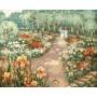 Картина-раскраска по номерам «Сто лет назад» 40*50 см