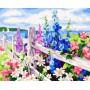 Цветочная изгородь
