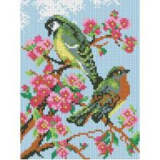 Алмазная мозаика «Весенняя песня » 18*24 см