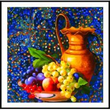 Картина-раскраска по номерам «Восточный натюрморт» 40*40 см