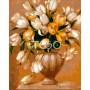 Картина-раскраска по номерам «Золотистые тюльпаны» 40*50 см