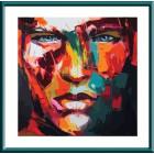 Абстрактный портрет мужской