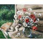 Дачная жизнь кота Василия