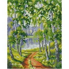 Алмазная мозаика «Из рощи» 20*25 см