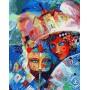 Картина-раскраска по номерам «Карнавал» 40*50 см