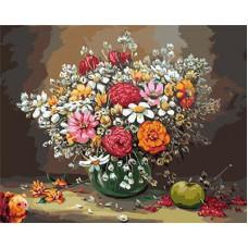 Картина-раскраска по номерам «Красочный натюрморт» 40*50 см
