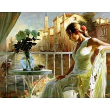 Картина-раскраска по номерам «Летнее утро» 40*50 см