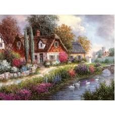 Картина-раскраска по номерам «Летний день» 40*50 см