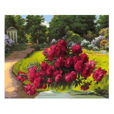 Картина-раскраска по номерам «Лето в Архангельском» 40*50 см