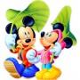 Картина-раскраска по номерам «Микки и Мини Маус» 20*30 см