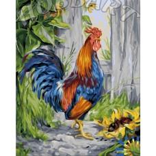 Картина-раскраска по номерам «Пёстрый» 40*50 см