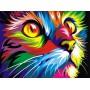 Радужный кот (худ. Ваю Ромдони)