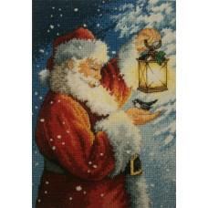 Алмазная мозаика «Санта Клаус» 20*30 см