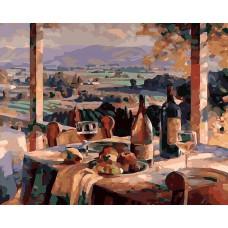 Картина-раскраска по номерам «Сицилийское настроение» 40*50 см