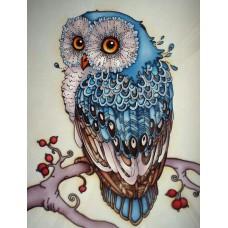 Алмазная мозаика «Сказочная сова» 30*40 см
