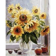 Картина-раскраска по номерам «Солнечное настроение» 40*50 см