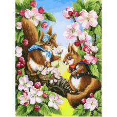 Картина-раскраска по номерам «Свидание» 30*40 см