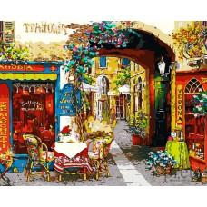 Картина-раскраска по номерам «Таверна в Вероне» 40*50 см