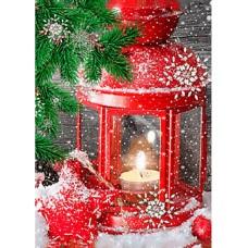 Алмазная мозаика «В ожидании праздника» 27*38 см