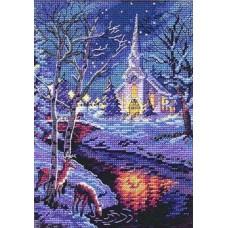 Алмазная мозаика «Великолепие в ночи» 20*30 см