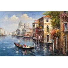Картина-раскраска по номерам «Венеция» 40*50 см