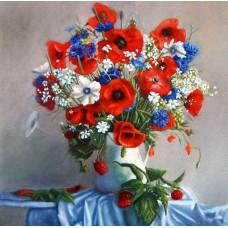 Картина-раскраска по номерам «Веселый натюрморт» 40*50 см