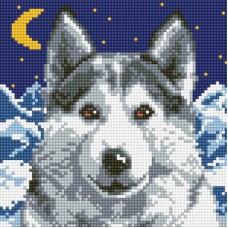 Алмазная мозаика «Вожак» 20*20 см