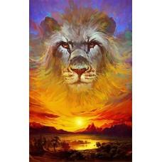 Картина-раскраска по номерам «Аслан (Хроники Нарнии)» 40*50 см