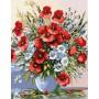 Дачный букет цветов